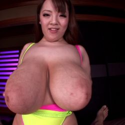 Big breasted japanese takes her clients to the brothel